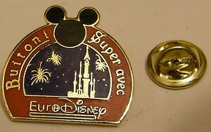 EURODISNEY-BUITONI-Disney-vintage-pin-badge