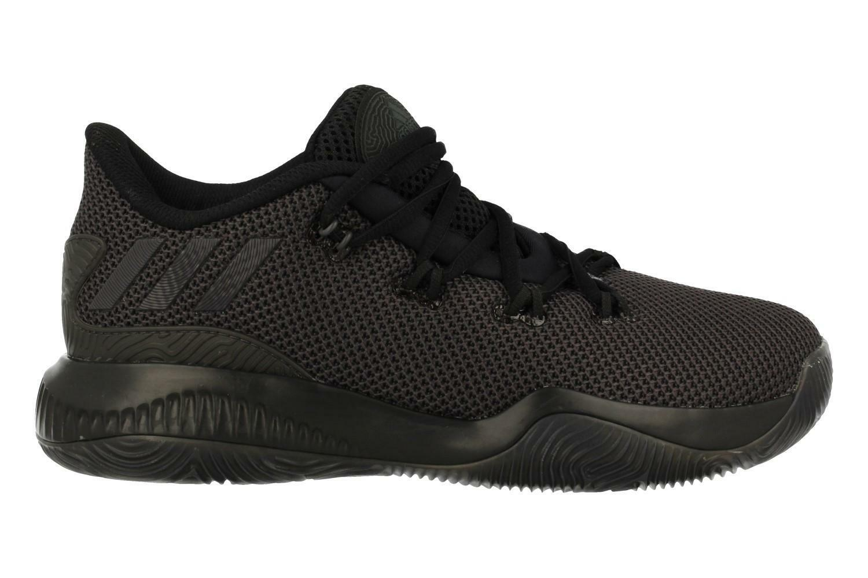 size 40 9435a 1cd62 adidas Crazy Crazy Crazy Fire Basketball Chaussures - Noir, Homme 485468
