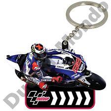 KEYRING Jorge Lorenzo Yamaha Racing Team MotoGP Hammer 99 Bike Keychain NEW!