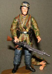 1-18-Ultimate-Soldier-WWII-German-Fallschirmjager-Machine-Gunner-Action-Figure