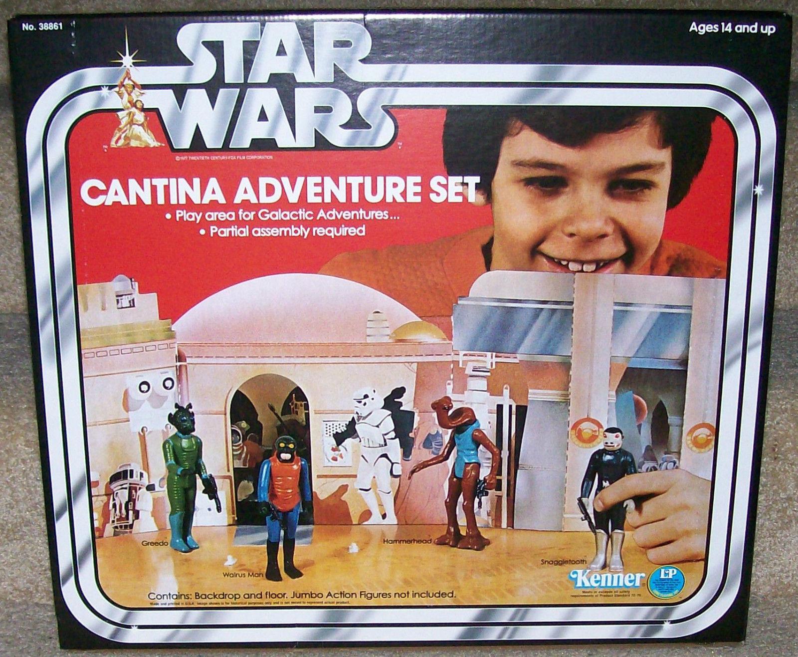 barato y de alta calidad Estrella Wars Gentle Giant Giant Giant Cantina Telón De Fondo Conjunto de Juego Nuevo Sellado  exclusivo