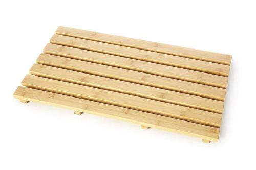 Bathroom Duckboard Bath Shower Anti Slip Skid Mat Paulownia Wood