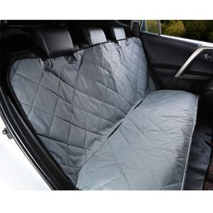pet rear back seat cover oxford dog car protector suv auto bench mat grey us ebay. Black Bedroom Furniture Sets. Home Design Ideas