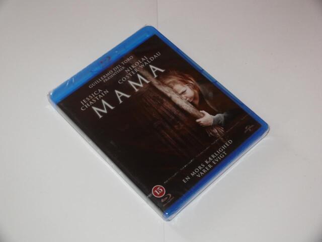 Blu-Ray Movie ~ Mama ~ Jessica Chastain ~ Scandinavian ~ NEW / SEALED