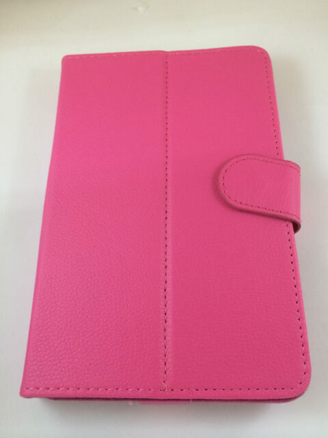 "Cover Case Universal With Magnetic For Tablet Of 10,1 "" 10.1 Inches Colour Pink"