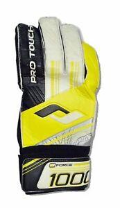PRO-TOUCH-Erwachsenen-Torwart-Handschuh-Force-1000-PG-schwarz-gelb-weiss