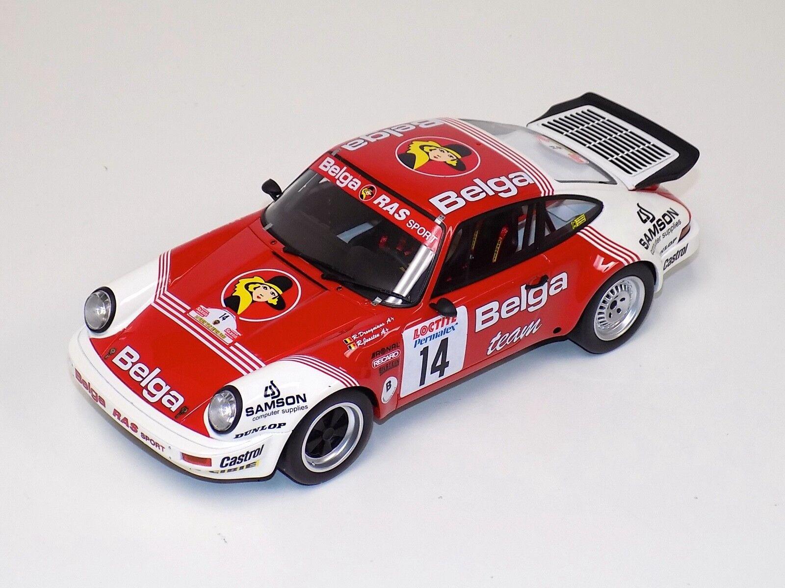 1 18 Otto GT Spirit Porsche 911 SC RC 1985 Rally Ypres Belga OT676