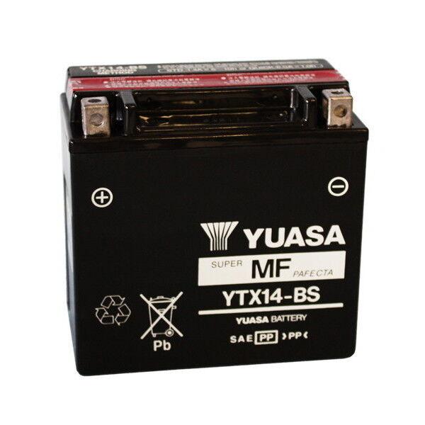 MS-E8FC56ABFB BATTERIA YUASA YTX14-BS  BLADE LE 325 TGB 12V/12AH ATV 06.5129