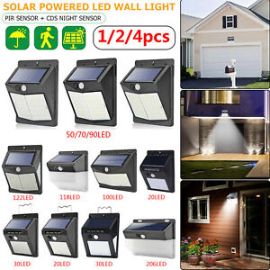 20-206LED-Solar-Luz-de-Pared-Sensor-de-Movimiento-Impermeable-Jardin-Iluminacion