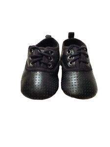 H\u0026M Baby Boy Shoes Size 2.5-3.5 Black