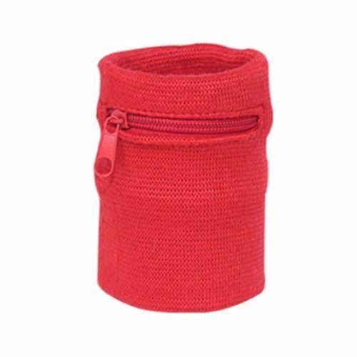 Hot Men Women Wrist Wallet Pouch Band Key Coins Holder Running Travel Zipper Bag