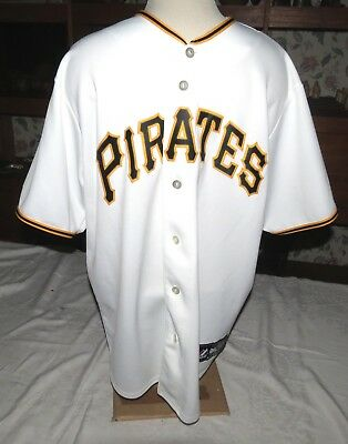 Pittsburgh Pirates Maholm 28 Geknöpft Baseball Shirt Majestic GrÖsse L Baseball & Softball