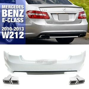 Image Is Loading E63 Amg Style Rear Per Without Pdc Tips