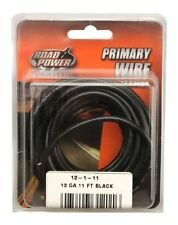 Coleman Cable 55671333 12-Gauge 11-Foot Automotive Copper Wire, Black