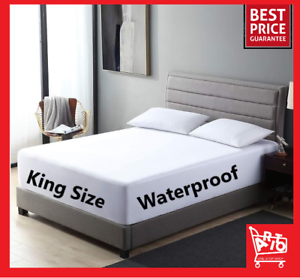 New Cal King Waterproof Mattress Protector Bedding Matress