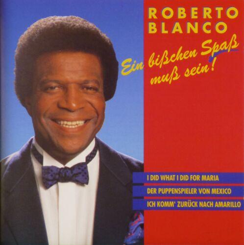 1 von 1 - CD - Roberto Blanco - Ein Bisschen Spass Muss Sein - A189