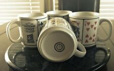 Vintage Bourbon Street Coffee Mugs from CLOSED King 8 Hotel & Casino - Set of 4