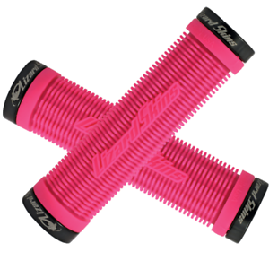 Lizard Skins Lock-On Charger Grips Pink Pair