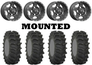 Kit-4-System-3-XM310-Tires-33x9-5-18-on-MSA-M32-Axe-Matte-Gray-Wheels-CAN