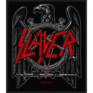 Slayer Black Eagle Alben Eisen Nähen Auf Kleidung Flecken-abziehbild Badge