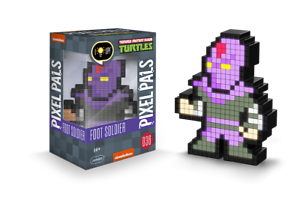 Pixel Pals-TEENAGE MUTANT NINJA TURTLES: FOOT Soldier NUOVO /& OVP N 036 -