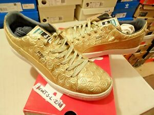Details about NEW Puma Tommie Smith Gold Clyde LIST 1968 Mexico City Olympic 347655 01 SZ 13