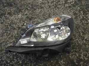 Renault-Clio-MK3-2005-2009-Passenger-NSF-Front-Headlight-Black-Backing