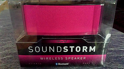iWorld NEW! Purple speaker Sound Storm Wireless Speaker Bluetooth BSM-1080