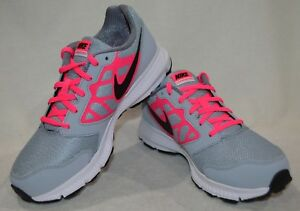 check out 59582 6277c Image is loading Nike-Downshifter-6-GS-PS-Grey-Black-Pink-