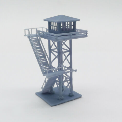 Outland Models Modelleisenbahn Landschaft großer Wachturm Spur Z 1:220
