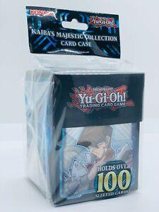YUGIOH-Kaiba-039-s-Majestic-Deck-Box-Card-Case-Fur-100-Karten-Blue-Eyes-Neu