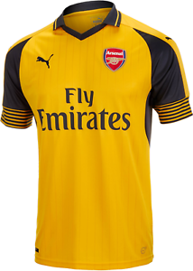 Official Puma AFC Football Jersey All Sizes Mens Arsenal Away Shirt
