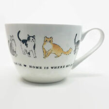 Portobello By Inspire Home Is Where My Cat Is Oversized Coffee Tea Mug Cup