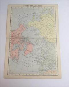 SMALL-MAP-FROM-AN-1895-WORLD-ATLAS-THE-NORTH-POLAR-CHART-3