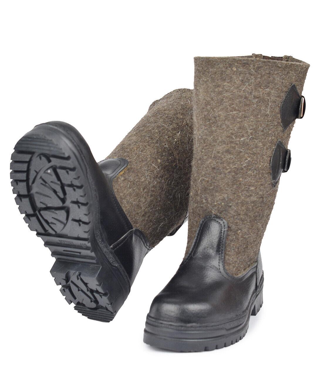 Original Russian felt boots valenki for ice fishing,hunting.russian winter boots