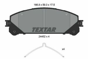Genuine OE Textar Front Disc Brake Pads Set 2445201