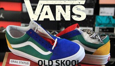 Vans Old Skool Yacht Club Hommes Chaussures De Loisirs Pour femmes Skateboard Toile Sports | eBay