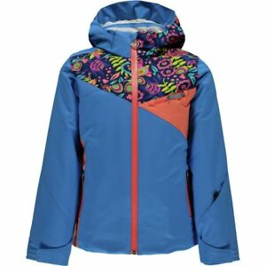 e077a21a135 NEW Spyder Kids Girls Ski Snowboarding Project Jacket Size 18 (Girls ...