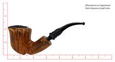 """Erik Nording Smoking Pipe Black """"Grain #3"""""""