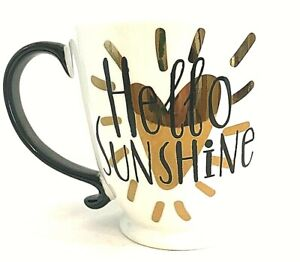 Clay Art Hello Sunshine Coffee Mug Tea Cup Hot Cocoa Extra Large