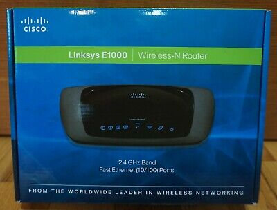 LINKSYS E1000 V2 300MBPS 4-PORT 10//100 WIRELESS N ROUTER UPDATED LATEST FIRMWARE