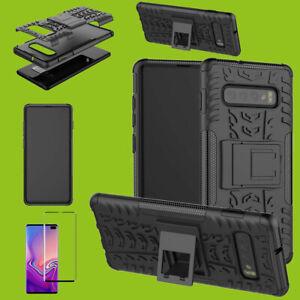 Bolso-hibrido-estuches-negra-para-Samsung-Galaxy-s10-g973f-4d-h9-vidrio-curved-nuevo