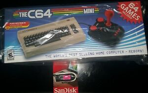 The-C64-Mini-Console-Brand-New-PLUS-17-000-Games-On-Sandisk-Flash-Drive7