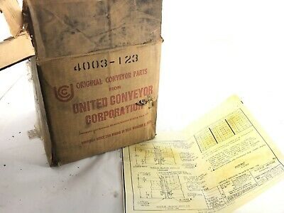 UNITED CONVEYOR 4003-123 Nozzle Section Assembly