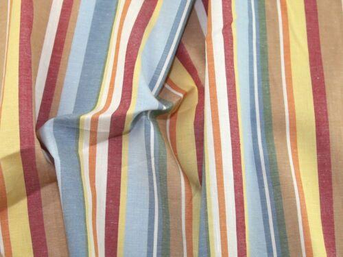 EM-MultiStripeCot1095-Blue-M Stripe Print Cotton Dress Fabric