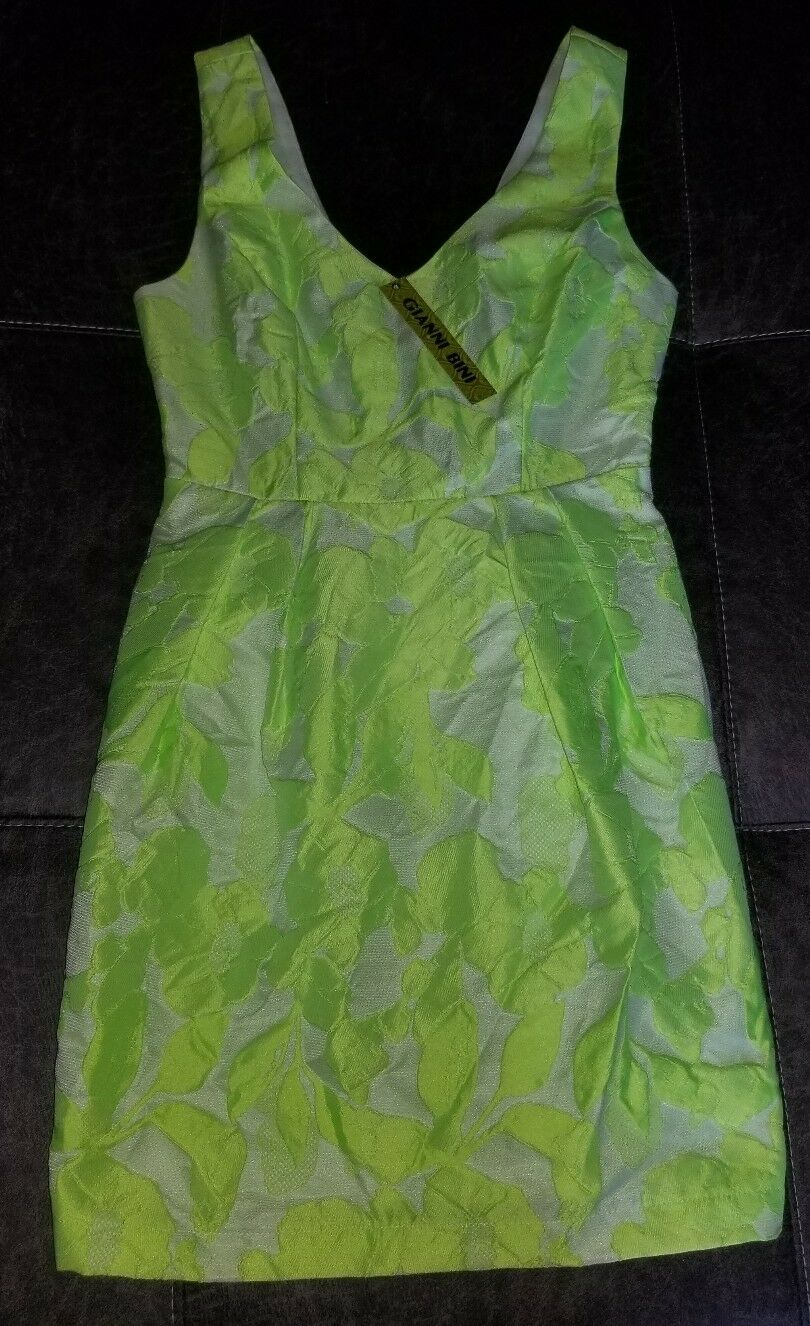8b4f4bdac3414 NWT Gianni Bini small green Women's Juniors dress oduytm7707-Dresses ...