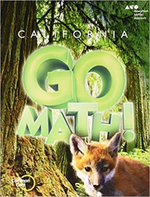Grade 3 California Go Math Student Edition Worktext 3rd Ebay