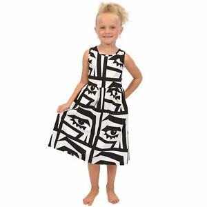 38f1e3e92eee Girl s Print Racerback Tank Below The Knee Length Midi Dress