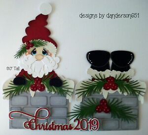 CHRISTMAS NIGHT BEFORE Title Paper Piecing Scrapbook Border Scrapbooking Eve