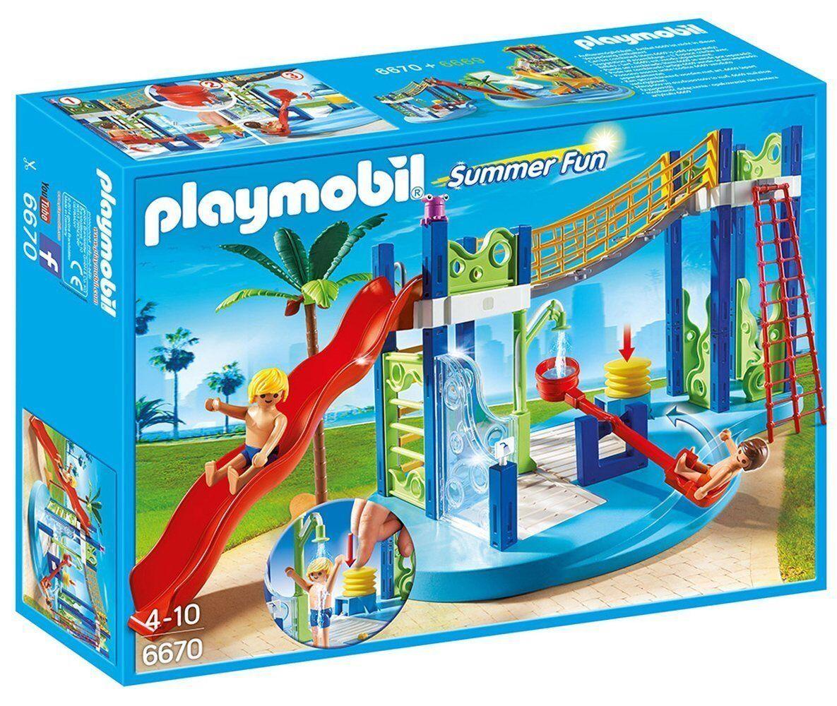 Playmobil 6670 - Parque Acuático con Toboganes - NUEVO
